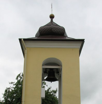 church bell tower, St. Nicholas, Nowotaniec, Poland